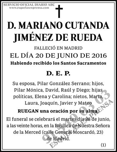 Mariano Cutanda Jiménez de Rueda